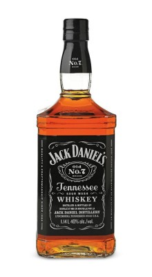 Jack Daniel's Tennessee whiskey 40% 1L, whisky