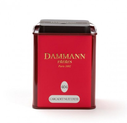 Dammann Fréres Carcadet Nuit d´Ete N°404 100 gr., ochutený  6389,ovocaj, plech