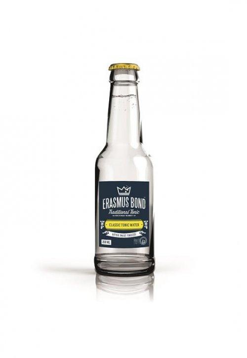 Erasmus Bond Classic Tonic Water 200ml, nealko, sýtený nápoj 0,2L, sklo