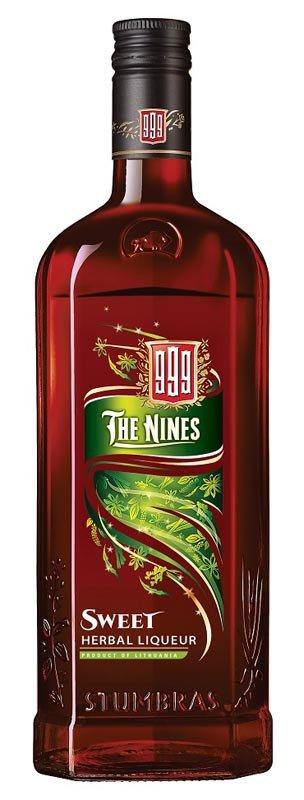 The Nines Sweet herbal liqueur 35% 0,7L, liker