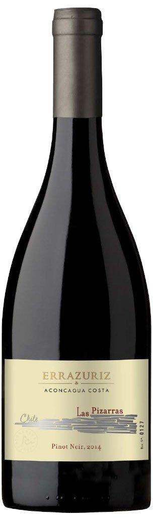 Errazuriz Las Pizarras Pinot Noir 0,75L, r2014, cr, su