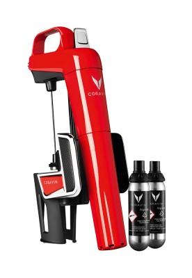 Coravin Model Two Elite Red s dvoma argónovými kapsulami