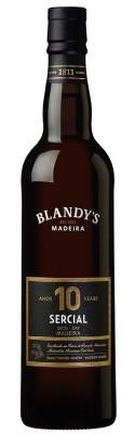 Blandy's Madeira Sercial 10 Y.O. Dry 0,5L, fortvin, bl, sl
