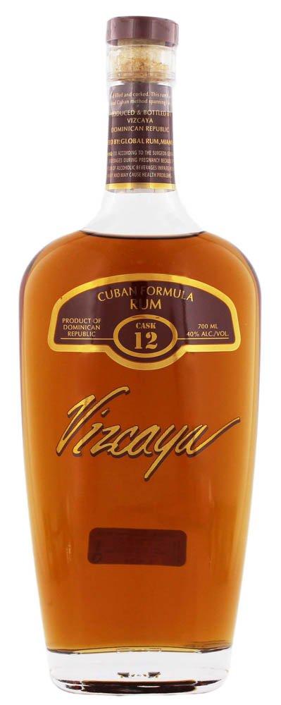 Vizcaya Rum Cask Nr. 12 Dark 40% 0,7L, rum