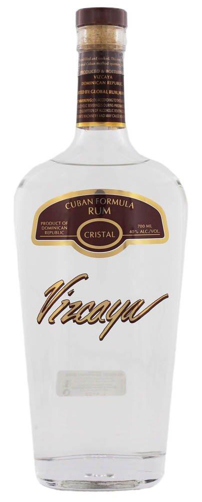 Vizcaya Rum Cristal Light 40% 0,7L, rum