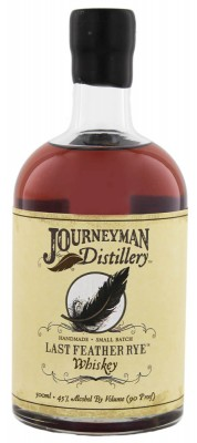 Journeyman Last Feather Rye Whiskey 45% 0,5L, whisky