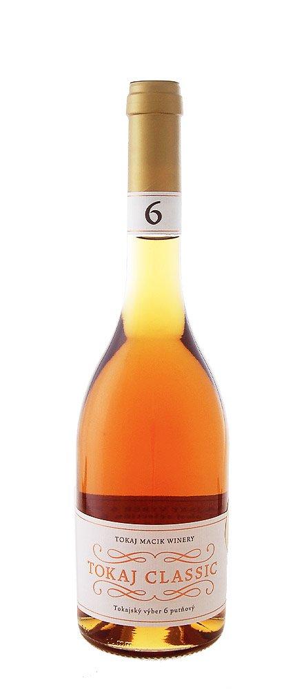 Tokaj Macík Winery TOKAJ CLASSIC Tokajský výber 6 putňový 0,5L, r2006, ak, bl, sl