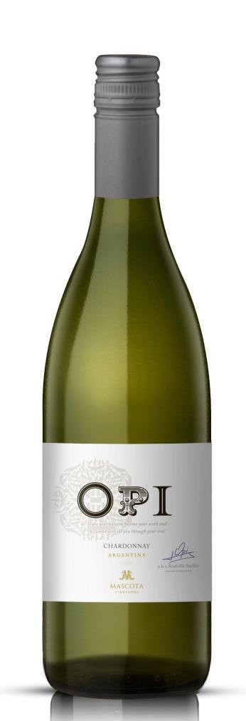 Mascota Vineyards OPI Chardonnay 0,75L, r2015, bl, su