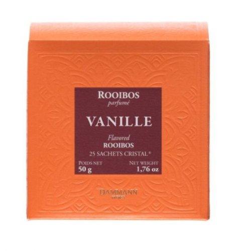 Dammann Fréres Sachets Box Rooibos Vanille, aromatizovaný, 25 x 2 g,  5221,cervcaj, krsac