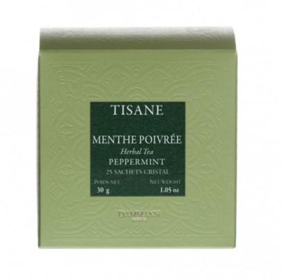 Dammann Fréres Sachets Box Tisane Menthe Poivrée - pepermint, 25 x 1,2 gr.  4513,bylcaj, krsac