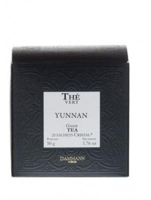 Dammann Fréres Sachets Box Yunnan Vert, 25 x 2 gr.  6978,zelcaj, krsac