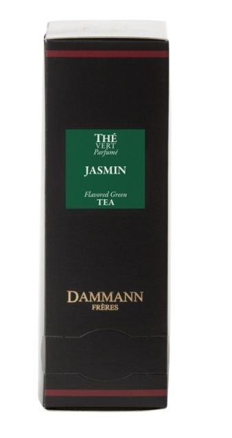 Dammann Fréres Sachets Vert Jasmin - zelený jasmín, ochutený, 24 x 2 g,  4979,zelcaj, krsac HB