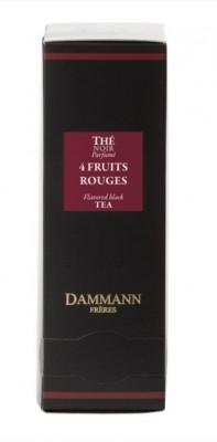 Dammann Fréres Sachets 4red Fruits, 24 x 2 g,  4996,ciercaj, krsac HB