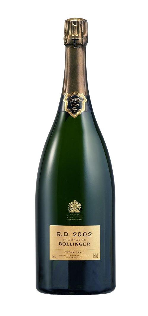 Champagne Bollinger R.D. Extra Brut Magnum 1,5L, AOC, r2002, sam, bl, exbr