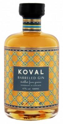 Koval Barreled 47% 0,5L, gin