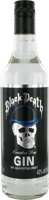Black Death London dry 40% 0,7L, gin