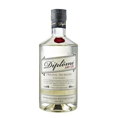 Diplôme dry 44% 0,7L, gin