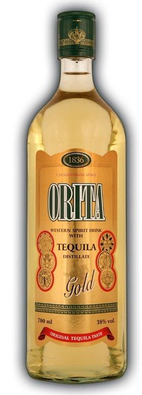 Orita Gold Tequila 38% 0,7L, tequila