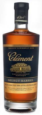 Clément Select Barrel 40% 0,7L, rum