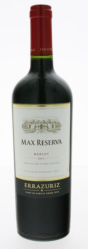 Errazuriz Max Reserva Merlot 0,75L, r2014, cr, su