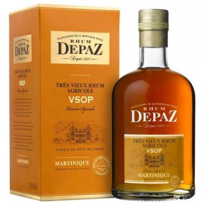Depaz rhum Martinique VSOP 45% 0,7L, rum, DB