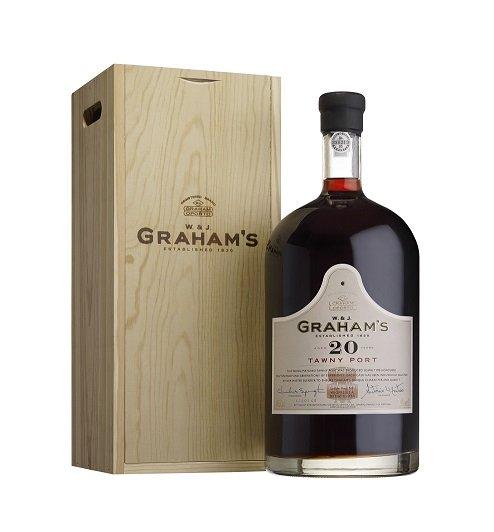Graham's 20 Y.O. Tawny Port 4,5L, fortvin, cr, sl, DB