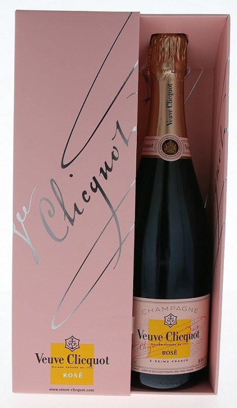 Veuve Clicquot Ponsardin Rosé Brut NV 0,75L, AOC, sam, ruz, brut, DB