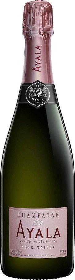 Champagne Ayala Brut Rosé Majeur 0,75L, AOC, sam, ruz, brut