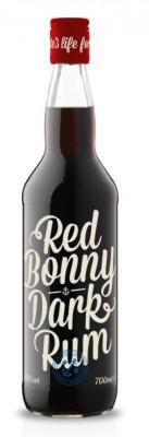 Red Bonny Dark Rum 40% 0,7L, rum