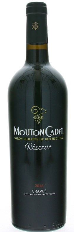 Rothschild Mouton Cadet Réserve Graves Rouge 0,75L, AOC, r2016, cr, su