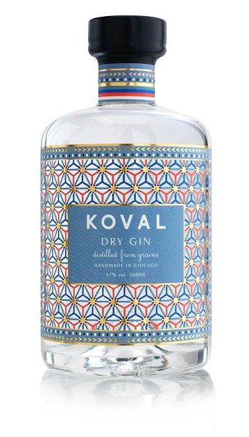 Koval Dry Gin 47% 0,5L, gin