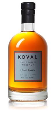 Koval Four Grain Whiskey 47% 0,5L, whisky