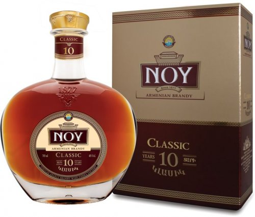 Noy Classic 10 years old 40% 0,7L, brandy, DB