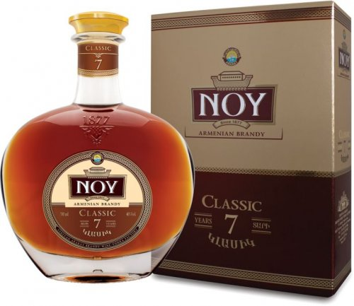 Noy Classic 7 years old 40% 0,7L, brandy, DB