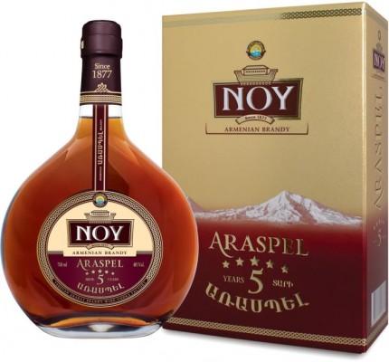Noy Araspel 5* (5 years old) 40% 0,7L, brandy, DB