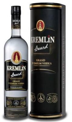 Kremlin Award 40% leather 0,7L, vodka, box