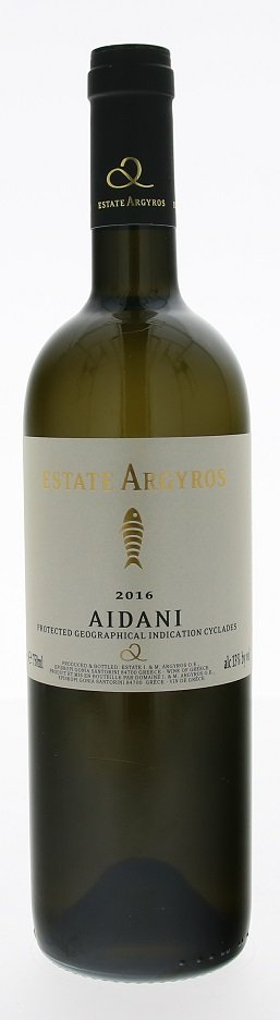 Argyros Estate Aidani 0,75L, PGI, r2016, bl, su