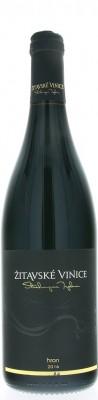 Žitavské vinice Hron barrique 0,75L, r2016, ak, cr, su