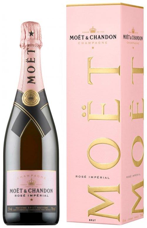 Moët & Chandon Brut Impérial Rosé 0,75L, AOC, sam, ruz, brut, DB