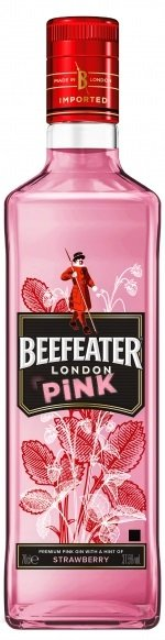 Beefeater London Pink gin 37,5% 0,7L, gin