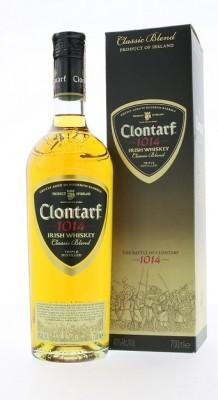 Clontarf 1014 Classic Blend Irish 40% whisky 0,7L, whisky, DB