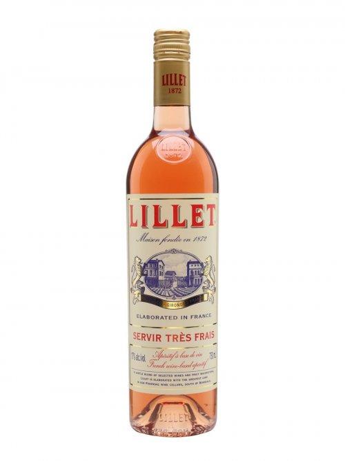 Lillet Rosé 17% 0,75L, fortvin, ruz