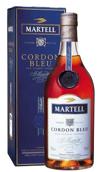 Martell Gordon Bleu 40% 0,7L, cognac, DB