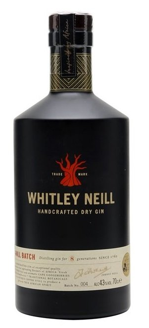 Whitley Neill Dry 43% 0,7L, gin