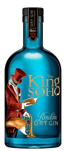 The King of Soho London dry 42% 0,7L, gin