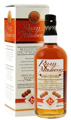 Malecon Reserva Superior 12YO 40% 0,7L, rum, DB