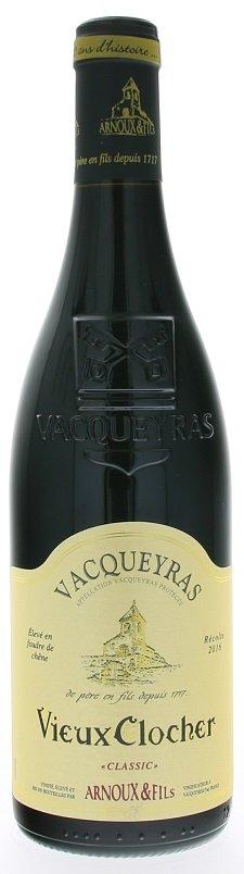 Arnoux & Fils Vieux Clocher, Vacqueyras 0,75L, AOC, r2016, cr, su