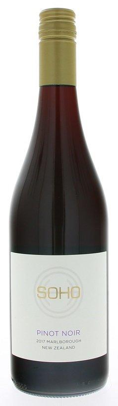 Soho Pinot Noir 0,75L, r2017, cr, su, sc