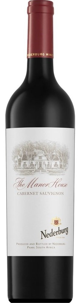 Nederburg Manor House Cabernet Sauvignon 0,75L, r2016, cr, su