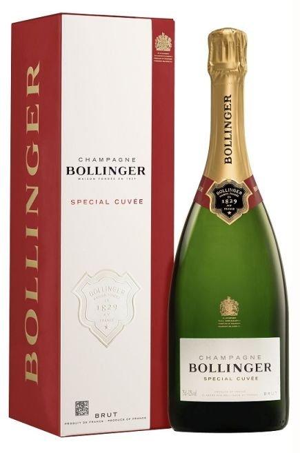 Champagne Bollinger Special Cuvée Brut 0,75L, AOC, sam, bl, su, DB